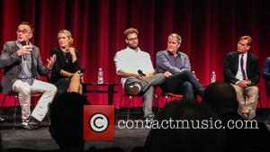 Danny Boyle, Kate Winslet, Seth Rogen, Jeff Daniels , Aaron Sorkin - The cast and crew members from