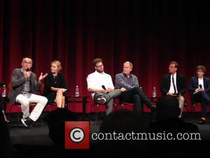 Danny Boyle, Kate Winslet, Seth Rogen, Jeff Daniels, Aaron Sorkin , Daniel Pemberton - The cast and crew members from...