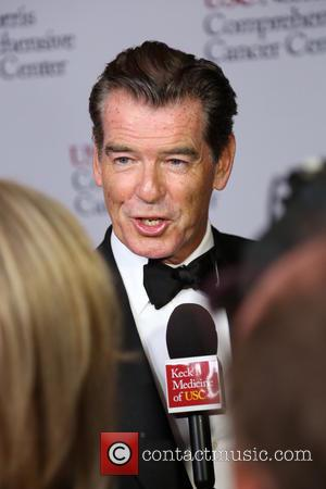 Pierce Brosnan - USC Norris Cancer Care Gala held at the Beverly Wilshire Hotel - Arrivals - Los Angeles, California,...
