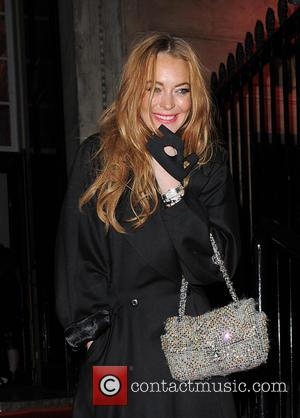 Lindsay Lohan - Celebrities attend Roberto Cavalli's wife Eva Cavalli - VIP birthday party at One Mayfair. London. UK -...