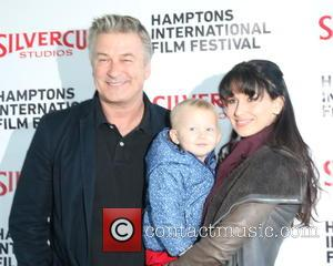 Alec Baldwin, Carmen Baldwin , Hiliaria Baldwin - The 23rd Annual Hamptons International Film Festival - Arrivals - East Hampton,...