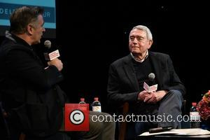 Alec Baldwin , Dan Rather - Hamptons International Film Festival - 'A Conversation With Dan Rather' hosted by Alec Baldwin...