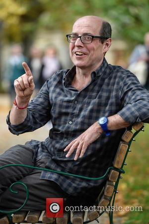 Nick Robinson - Robert Peston meets Nick Robinson at Cheltenham Literature Festival at Cheltenham Literature Festival - Cheltenham, United Kingdom...