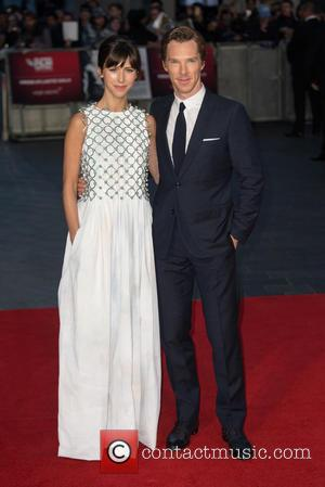 Benedict Cumberbatch , Sophie Irene Hunter - BFI London Film Festival Virgin Atlantic Gala of 'Black Mass' - Arrivals at...