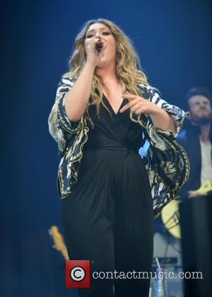 Ella Henderson - Girlguiding Big gig 2015 held at Wembley Arena at SSE Wembley Arena, Wembley Arena - London, United...