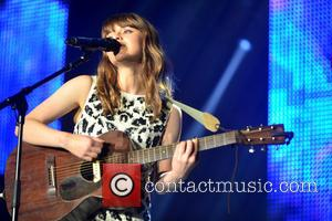 Gabrielle Aplin - Girlguiding Big gig 2015 held at Wembley Arena at SSE Wembley Arena, Wembley Arena - London, United...