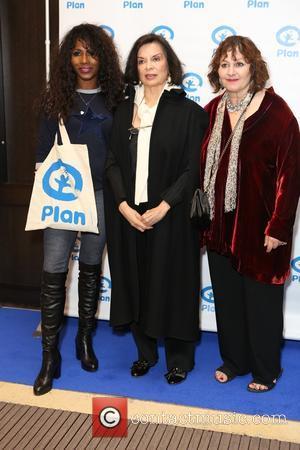 Sinitta, Bianca Jagger and Lesley Udwin