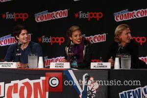 Brandon Routh, Ciara Renee and Phil Klemmer