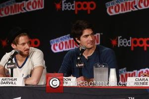 Arthur Darvill and Brandon Routh