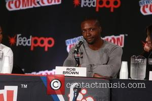 Rob Brown - Comic Con Day 4 at The Jacob K. Javits Convention Center at Javitis Center, Comic Con -...
