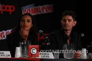 Jessica Lucas and James Frain