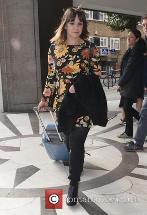 jessica fox - Celebrities leave the 'Sunday Brunch' studios - London, United Kingdom - Sunday 11th October 2015