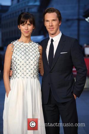 Sophie Hunter , Benedict Cumberbatch - BFI London Film Festival - Black Mass premiere held at the Odeon Cinema -...