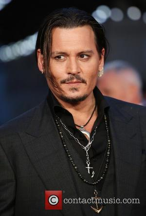 Johnny Depp - BFI London Film Festival - Black Mass premiere held at the Odeon Cinema - Arrivals - London,...