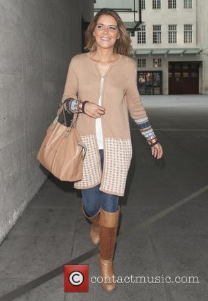 Gemma oaten - Gemma Oaten arriving at BBC Broadcasting house for her appearance on the Gaby Roslin Show - London,...