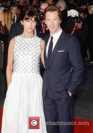 Benedict Cumberbatch , Sophie Hunter - BFI London Film Festival - 'Black Mass' - Premiere - London, United Kingdom -...