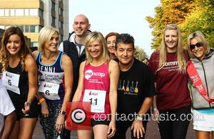 Charlie Webster, Jenni Falconer, Jo Whiley, John Altman, Diana Marchmant, Rebecca Adlington and Emily Maitless
