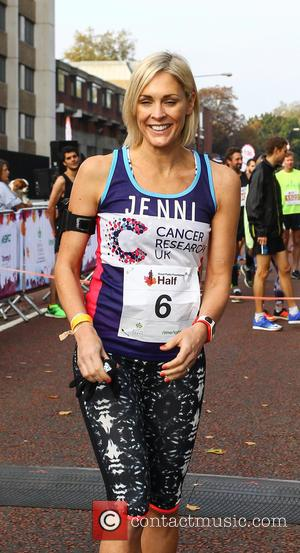 Jenni Falconer - Royal Parks Foundation Half Marathon 2015 in London's Hyde Park at Hyde Park - London, United Kingdom...