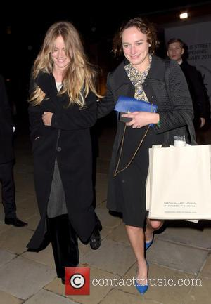 Cressida Bonas - Cressida Bonas and a friend appear to be in high spirirts while leaving the Chanel Mademoiselle Prive...