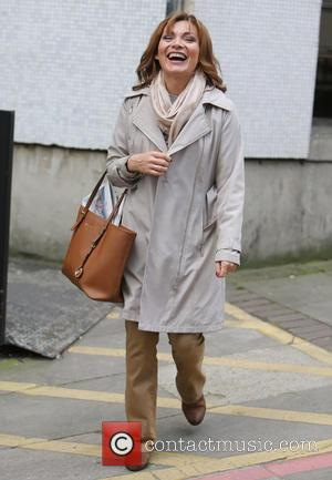 Lorraine Kelly - Lorraine Kelly outside ITV Studios - London, United Kingdom - Monday 12th October 2015