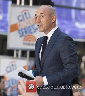 Matt Lauer - Selena Gomez On NBC Today Show at Rockefeller Center - New York, New York, United States -...
