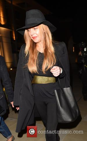 Lindsay Lohan - Celebrities attend the Chanel Mademoiselle Prive party held at the Saatchi Gallery - London, United Kingdom -...