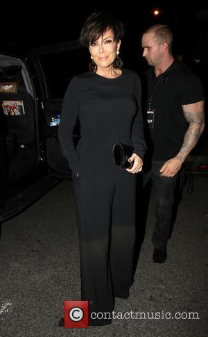 Kris Jenner - Members of the Kardashian family, all dressed in black, arrive at Ysabel for Cosmopolitan's 50th Birthday Celebration...