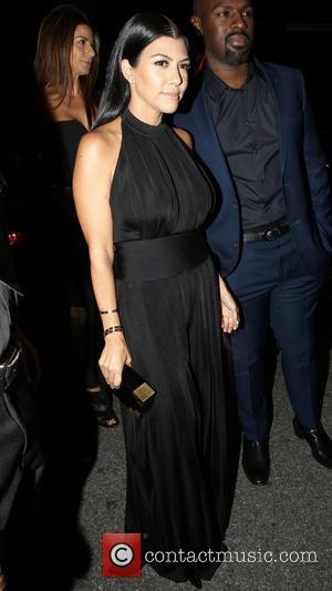 Kourtney Kardashian and Corey Gamble