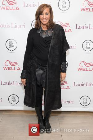 Donna Karan - Louis Licari Salon on 5th Avenue re-opening - Arrivals - New York, United States - Monday 12th...