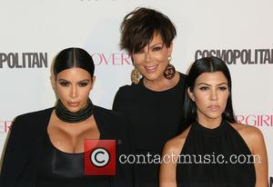 Kim Kardashian, Kris Jenner , Kourtney Kardashian - Cosmopolitan Magazine's 50th Birthday Celebration - Arrivals at Ysabel - Los Angeles,...