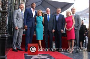 Kelly Ripa, Michael Strahan, Michael Gelman , Guests - Kelly Ripa honored with star on the Hollywood Walk Of Fame...