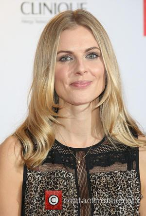 Donna Air - Red Women of the Year 2015 held at the Skylon Bar - Arrivals - London, United Kingdom...