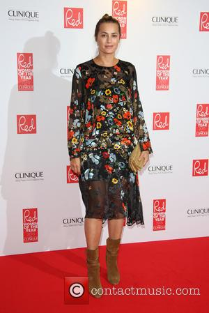 Yasmin Le Bon - Red Women of the Year 2015 held at the Skylon Bar - Arrivals - London, United...