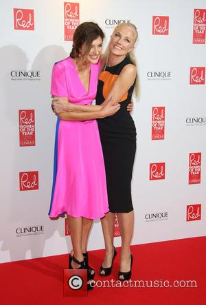 Joely Richardson - Red Women of the Year 2015 held at the Skylon Bar - Arrivals - London, United Kingdom...