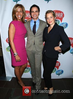 Hoda Kotb, Zac Posen , Alexandra Wentworth - Opening night for Clever Little Lies at the Westside Theatre - Arrivals....