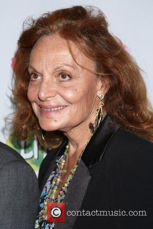 Diane von Furstenberg - Opening night for Clever Little Lies at the Westside Theatre - Arrivals. at Westside Theatre, -...