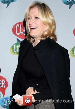 Diane Sawyer - Opening night for Clever Little Lies at the Westside Theatre - Arrivals. at Westside Theatre, - New...
