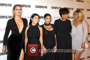 Khloe Karsahian, Kourtney Kardashian, Kim Kardashian West, Kris Jenner , Kylie Jenner - Cosmopolitan Magazine's 50th Anniversary Party at Ysabel...