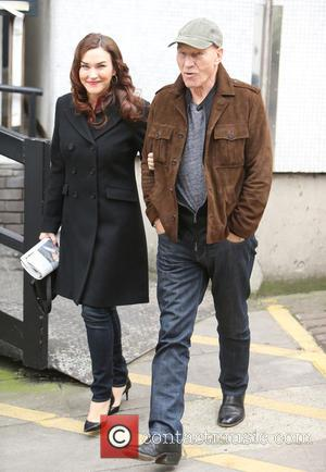 Patrick Stewart , Sunny Ozell - Patrick Stewart and wife Sunny Ozell outside ITV Studios - London, United Kingdom -...