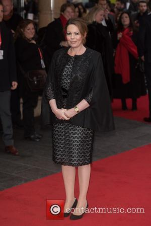 Olivia Colman - BFI LFF: Lobster film premiere held at the Vue West End. - London, United Kingdom - Tuesday...