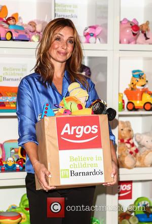 Louise Redknapp - Louise Redknapp launches the fourth annual Argos Toy Exchange that aims to bring the amount raised by...