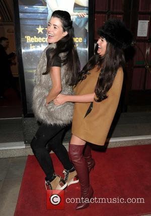 Charlotte Dawson , Helen Wood - Mack And Mabel Press Night At The Opera House Theatre In Manchester at Opera...