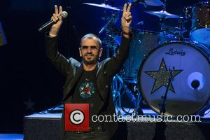 Ringo Starr - Ringo Starr performing live on stage in Calgary for his North American Tour - Calgary, Canada -...