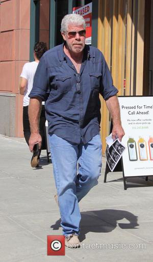 Ron Perlman - Ron Perlman out and about in Beverly Hills at beverly hills - Los Angeles, California, United States...