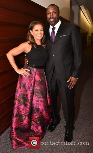 Vanessa Williams and Marcus Allen