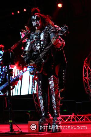 gene simmons - KISS performing live on stage at the Brisbane Entertainment Centre - Brisbane, Australia - Tuesday 13th October...