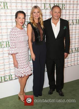 Alina Cho, Gwyneth Paltrow and John Demsey