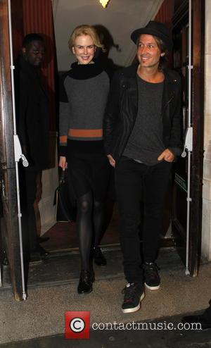 Nicole Kidman , Keith Urban - Nicole Kidman and Keith Urban leaving Noel Coward Theatre after her play 'Photograph 51'...