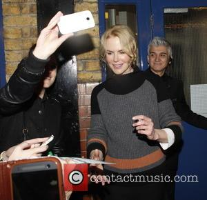 Nicole Kidman - Nicole Kidman mobbed by fans when leaving Noel Coward Theatre after her play 'Photograph 51' - London,...