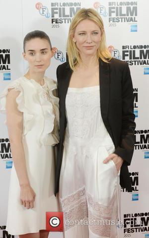 Cate Blanchett , Rooney Mara - BFI London Film Festival - 'Carol' - Photocall - Arrivals - London, United Kingdom...